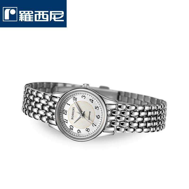 罗西尼女表特价不锈钢防水女士正品石英手表女款包邮R5356