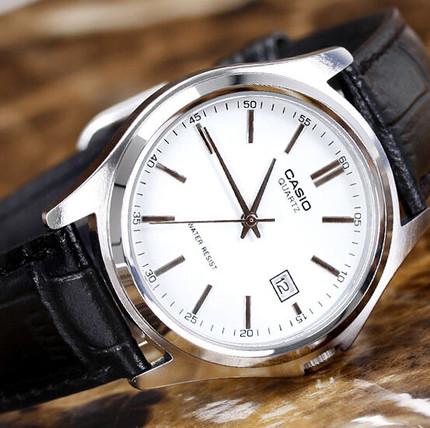 卡西欧(CASIO)手表 男表正品简约超薄防水男士石英表MTP-1183E-7A