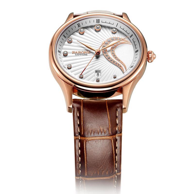 雷诺 情侣手表一对 男表女表石英表时装表非机械表皮带防水日历